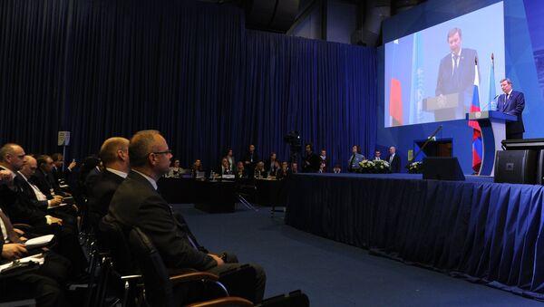Руководитель администрации президента РФ Сергей Иванов принимает участие в работе VI-й сессии конференции государств-участников конвенции ООН против коррупции в Санкт-Петербурге