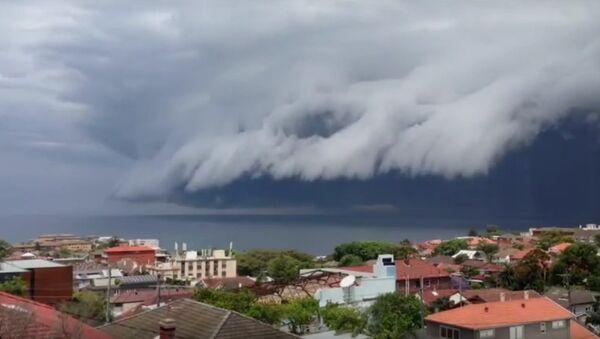Цунами из облаков