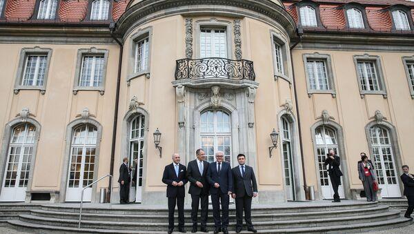Встреча глав МИД нормандской четверки в Берлине