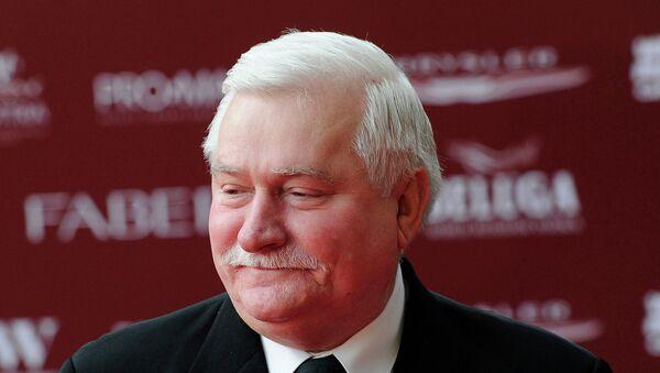 Бывший президент Польши, первый руководитель профсоюза Солидарность Лех Валенса