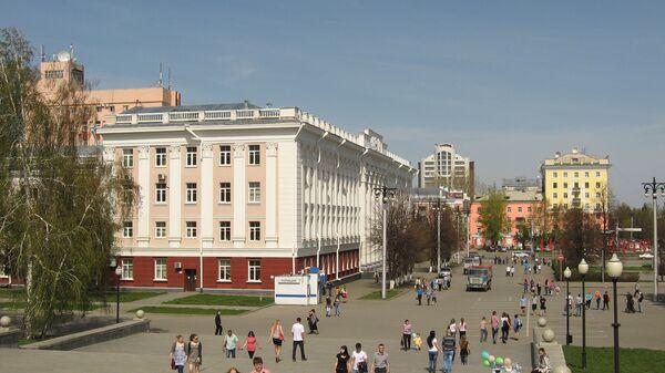 Вид Барнаула