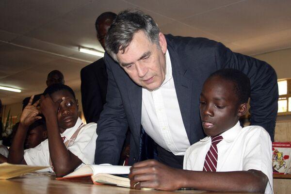 Гордон Браун, британский премьер-министр (2007-2010)
