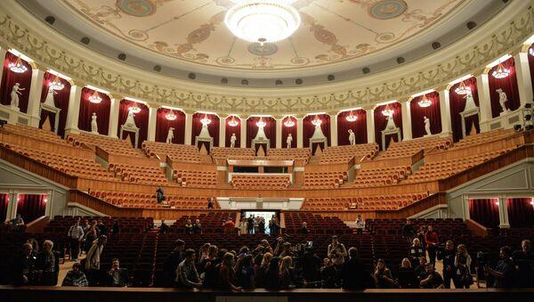 Открытие Новосибирского театра оперы и балета после реконструкции. Архивное фото