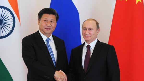 Президент РФ В.Путин принимает участие в неформальном саммите БРИКС в Анталье
