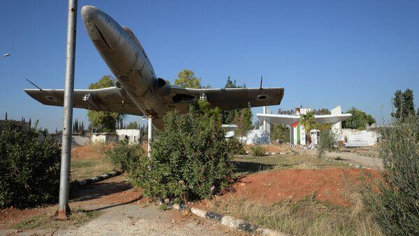 Авиабаза Квейрис в Сирии. Архивное фото