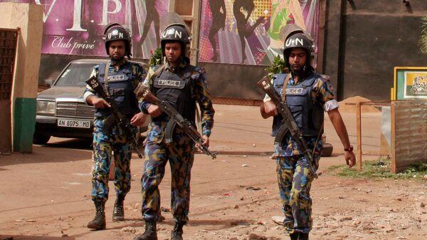 Сотрудники полиции Мали