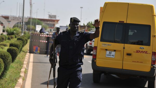 Офицер полиции Мали в Бамако