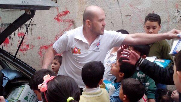 Активисты Союза добровольцев РФ отвезли в Сирию собранную гумпомощь