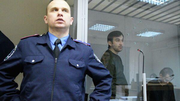 Заседание суда по делу Е.Ерофеева и А.Александрова в Киеве. Архивное фото