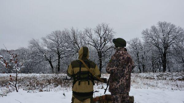 Военнослужащие Народной милиции ЛНР. Архивное фото