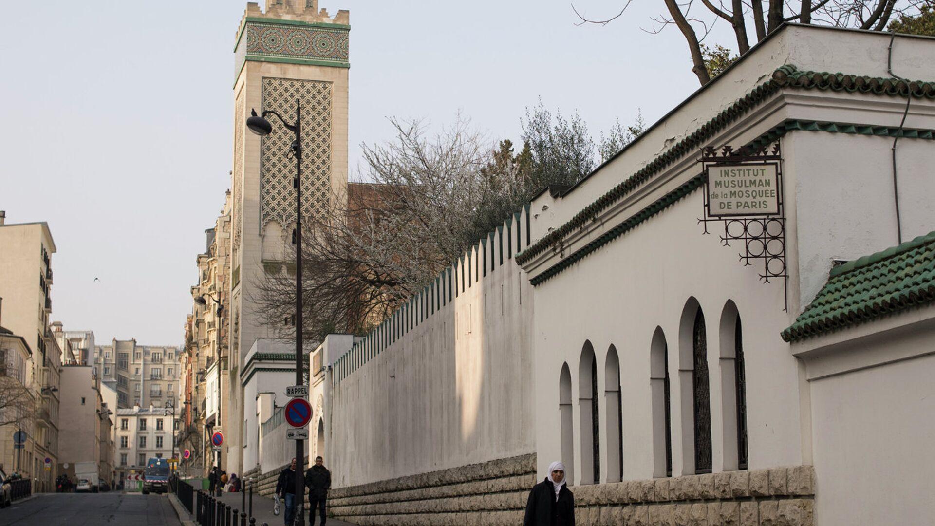 Великая мечеть в Париже - РИА Новости, 1920, 30.10.2020