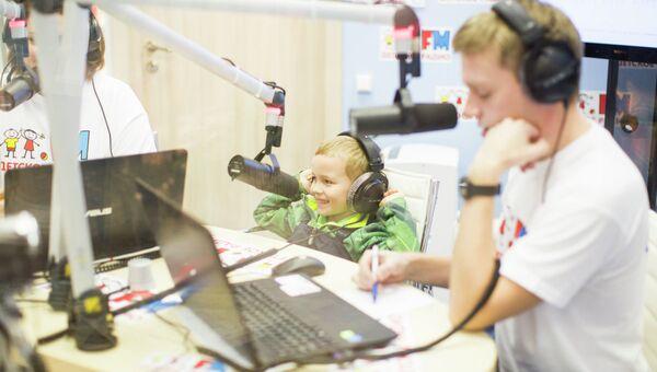 Студия Детского радио открылась в ЦДМ