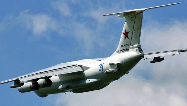 Авиационный топливозаправщик Ил-78. Архивное фото