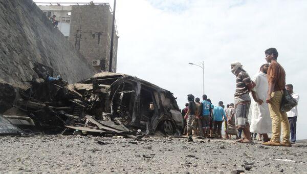 Теракт в Йемене, в котором погиб губернатор Адена