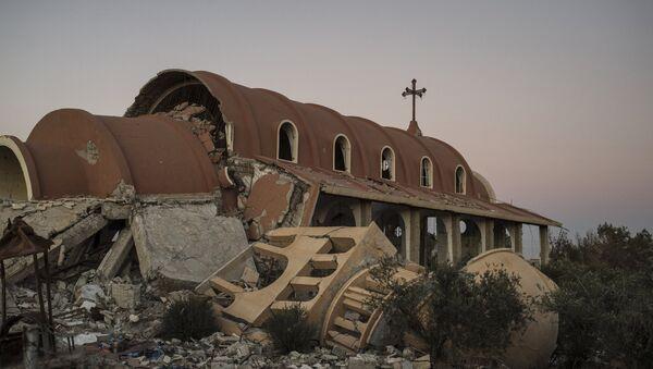 Христианские деревни в провинции Эль-Хасаке на северо-востоке Сирии. Архивное фото