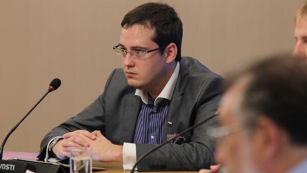 Заместитель председателя муниципального собрания Войковское Александр Закондырин. Архивное фото
