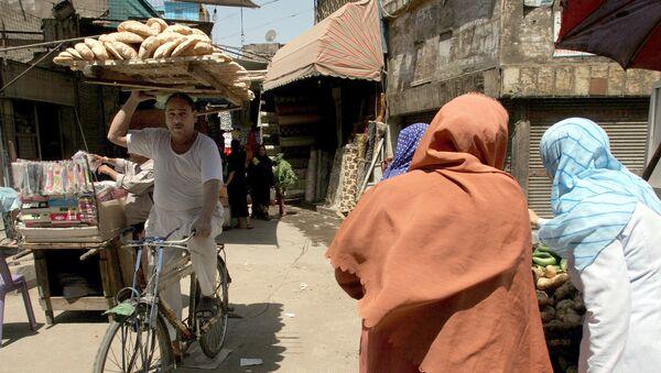 Уличный рынок в Каире, Архивное фото