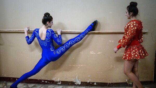 Фестиваль циркового искусства Арена в Новосибирске. Архивное фото