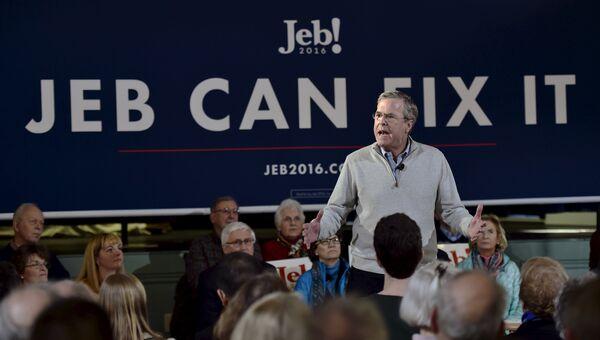 Кандидат в президенты США Джеб Буш