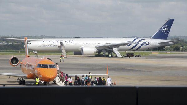 Самолет Boeing 777 авиакомпании Air France. Архивное фото