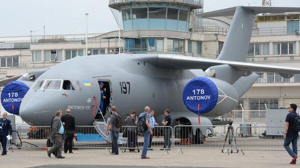 Украинский военно-транспортный самолет Ан-178