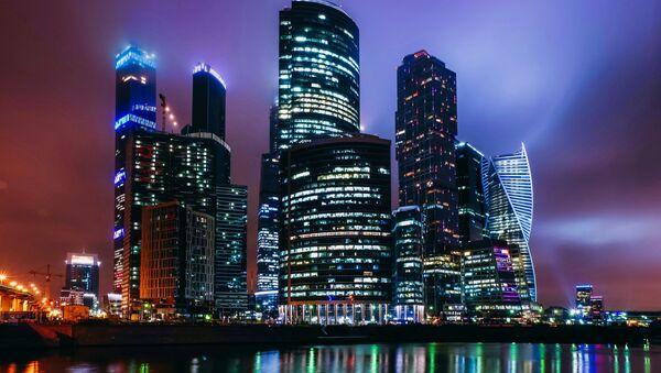 Московский международный деловой центр Москва-Сити.Архивное фото