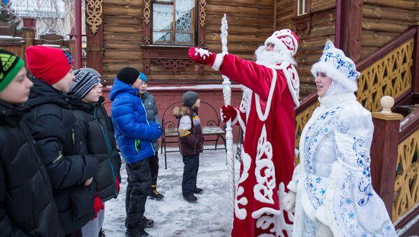 Резиденция Деда Мороза в Омской области