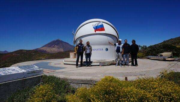 Телескоп-робот Мастер на Канарских островах