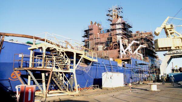 Выборгский судостроительный завод. Архивное фото