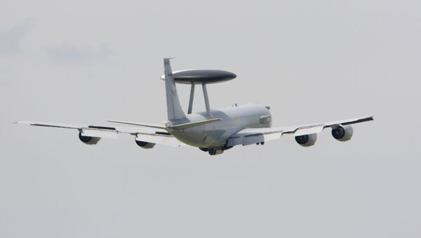 Самолет Boeing E-3 Sentry AWACS