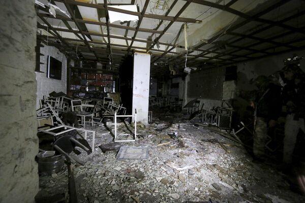 Взрывы прогремели в ресторанах в центре города Камышли на северо-востоке Сирии