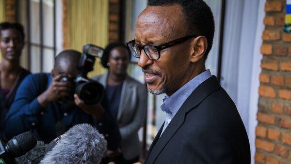 Президент Руанды Поль Кагаме. Архивное фото