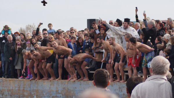 Празднование Крещения в Греции
