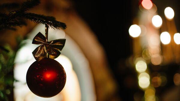 Празднование Рождества Христова. Архивное фото