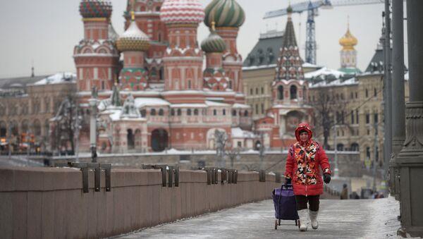 Виды Москвы и Кремля. Архивное фото
