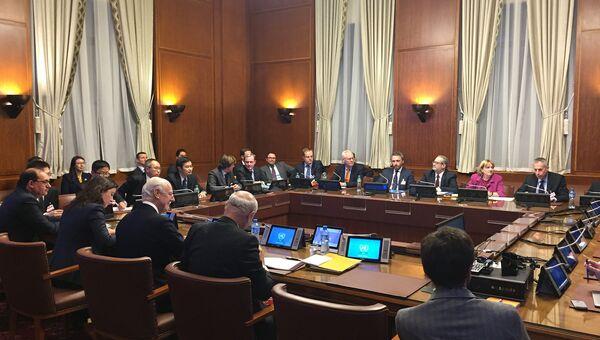 Встреча в Женеве по Сирии. Архивное фото