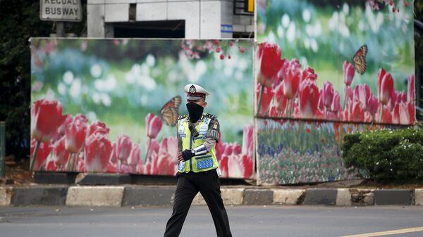Полиция в Индонезии