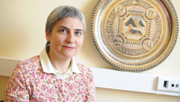 Елена Супонина - политический обозреватель, востоковед. Архивное фото