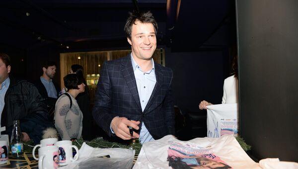 Актер Данила Козловский на премьере фильма Статус: свободен