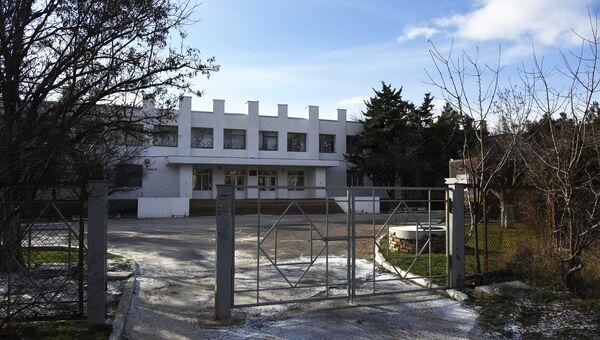 Коктебельская общеобразовательная школа №1. Архивное фото