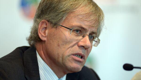 Глава территориальной делегации Красного Креста на Украине Алан Эшлиман
