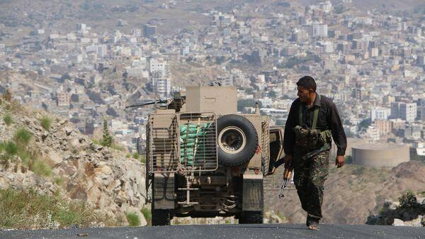 Ситуация в йеменском городе Таиз. Архивное фото