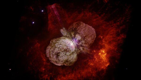 Звездная система Эта Киля снятая космическим телескопом Хаббл
