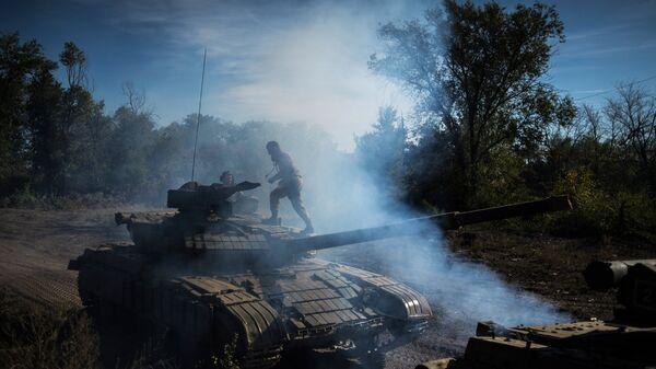 Линия соприкосновения в Донбассе
