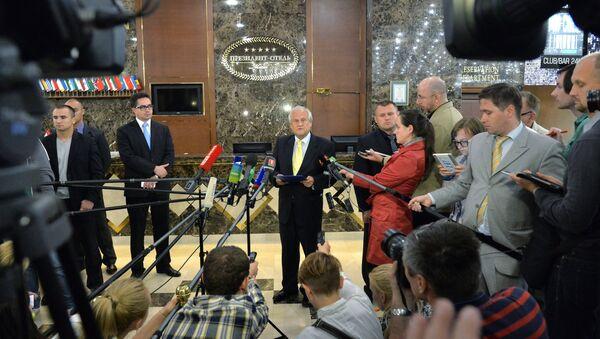 Встреча контактной группы по Украине.Архивное фото