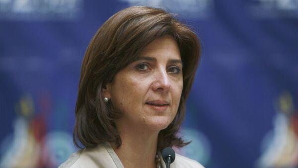 Министр иностранных дел Колумбии Мария Анхела Ольгин