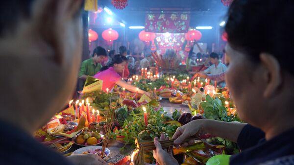 Празднование Нового года в Камбодже
