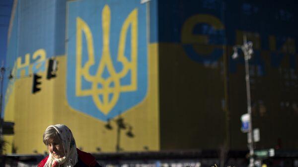 На Площади Независимости в Киеве. 2014 год. Архивное фото