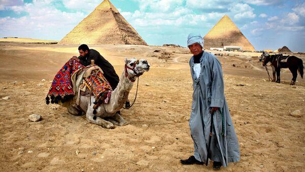 Пирамиды Гизы. Архивное фото