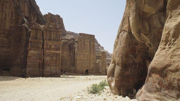 Древний город Петра. Иордания. Архивное фото